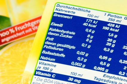 Kennzeichnungspflicht Lebensmittel