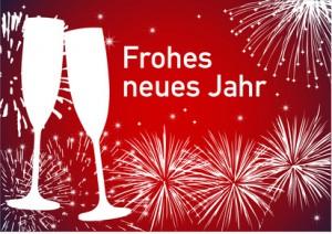 Frohes neues Jahr und alles Gute für 2014