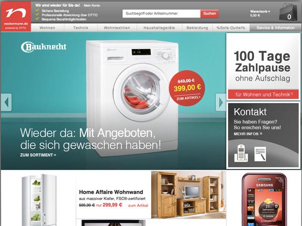 Otto Neckermannde Wird Zum Online Shop Ecommerce Visionde