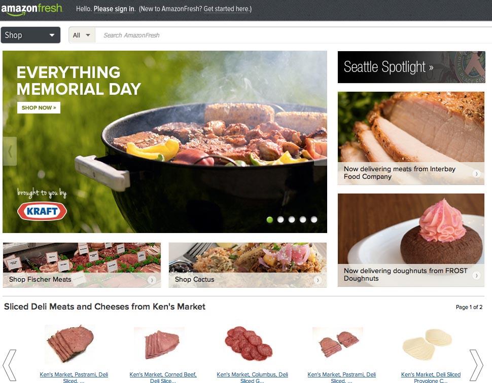 Amazon fresh ab September in Deutschland?