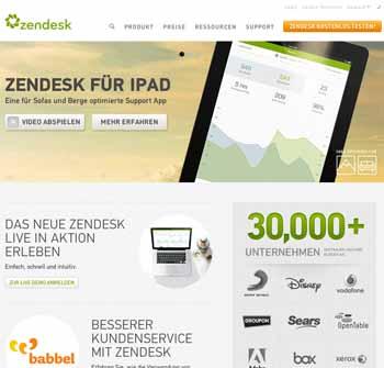 Kundenservice-Lösungsanbieter Zendesk nun auch in Deutschland