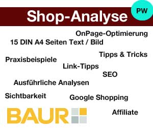 online shop von baur in der shop analyse ecommerce ecommerce. Black Bedroom Furniture Sets. Home Design Ideas
