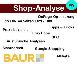 online shop von baur in der shop analyse ecommerce ecommerce. Black Bedroom Furniture Sets. Home Design Ideas