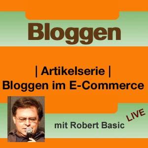 Bloggen im E-Commerce mit Robert Basic – Live
