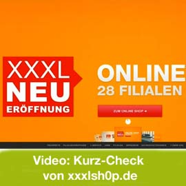 Video: XXXLShop.de im Kurz-Check