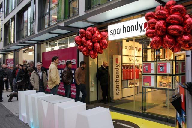 Sparhandy eröffnet Flagshipstore