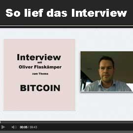 Recap: Interview mit Oliver Flaskämper zum Thema Bitcoin