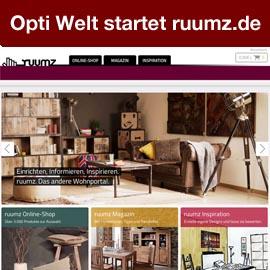 Der Möbelmarkt kommt in Bewegung, auch Opti Welt mit neuem Online-Shop