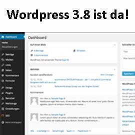 WordPress 3.8 steht zum Download bereit!