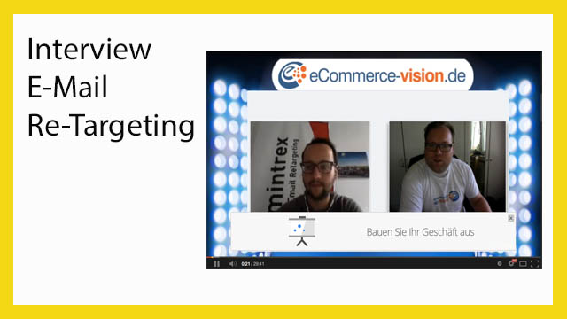 Interview zum Thema E-Mail Re-Marketing