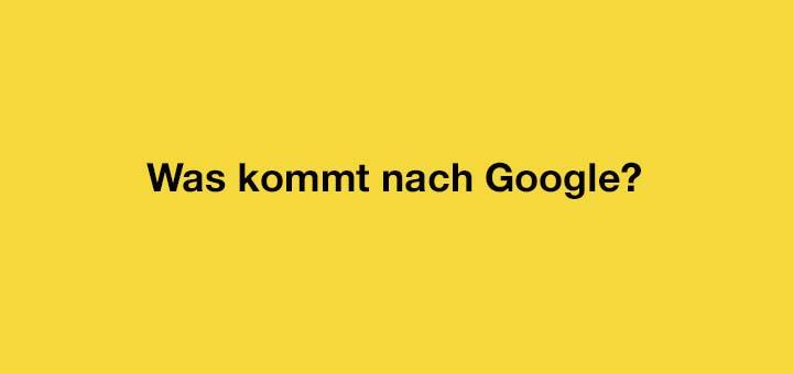 Ist Google für den E-Commerce out?