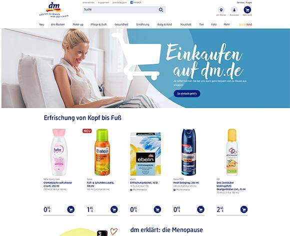 Der neue dm Online-Shop - viel Optimierungspotenzial und was ...