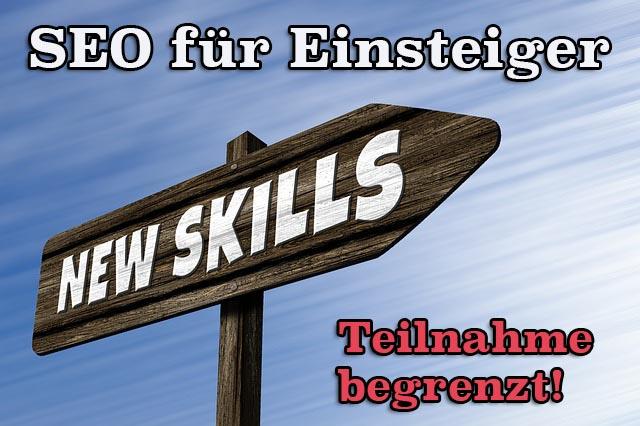 Webinar: Suchmaschinenoptimierung für Einsteiger – inkl. SEO Audit