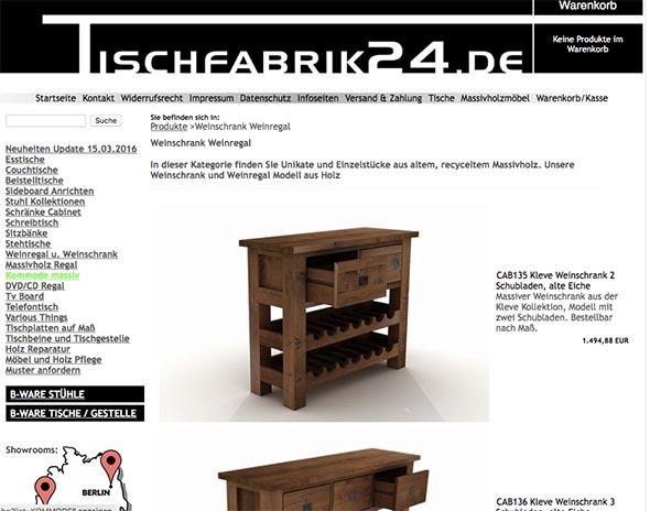 Shop Check Tischfabrik24de Im Test