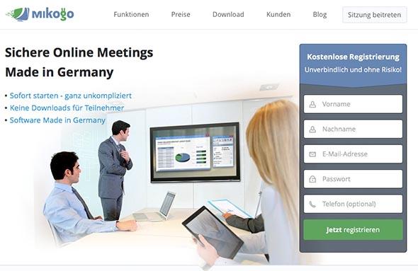 Mit mikogo kinderleicht Online-Meetings umsetzen