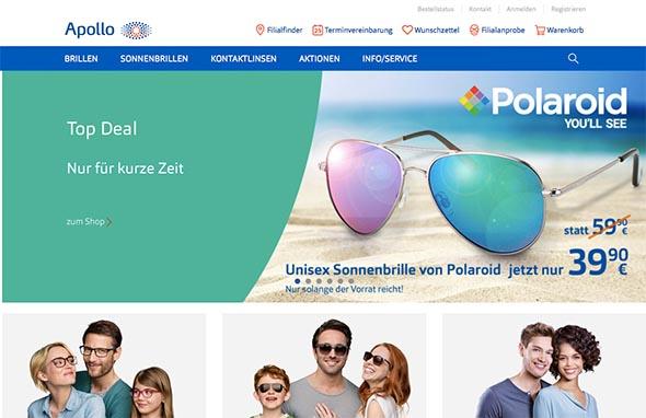 Apollo Optik steigt in E-Commerce ein – aber wie?
