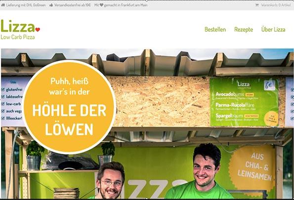 lizza.de – alles über die Entwicklung nach der Höhle des Löwen und den Blick in die Glaskugel