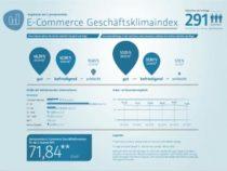 7. E-Commerce Geschäftsklimaindex: Händlerstimmung kühlt leicht ab