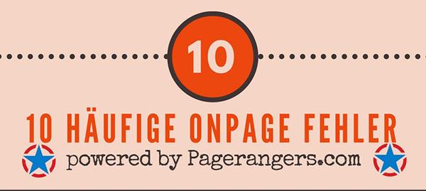 10 häufigsten OnPage Fehler – unbedingt beachten!