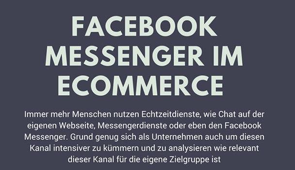 Sechs Tipps für den Einsatz des  Facebook Messengers im Ecommerce