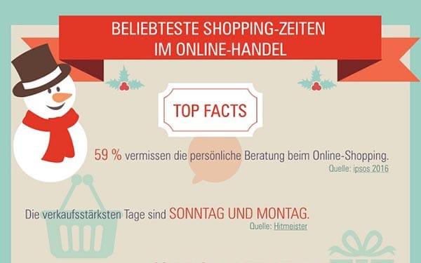 Beliebte Shoppingzeiten im Ecommerce – gibt es sie wirklich?