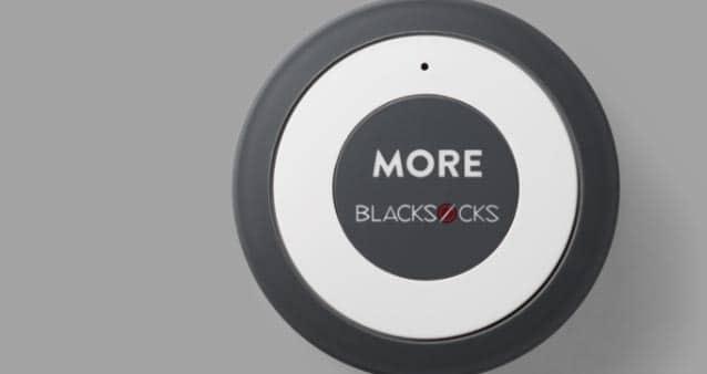 Blacksocks mit eigenem Bestellknopf