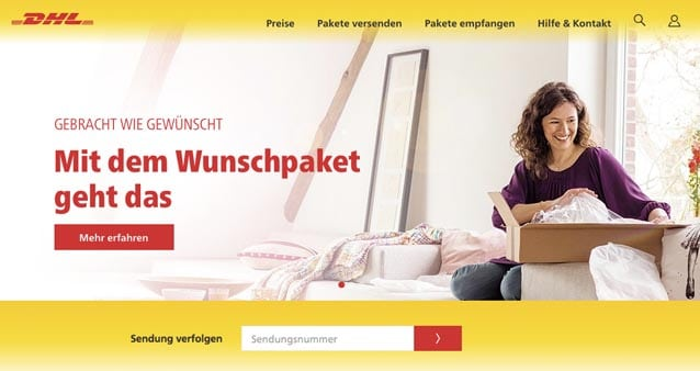dhl startet mit paket prio attacke auf amazon prime. Black Bedroom Furniture Sets. Home Design Ideas
