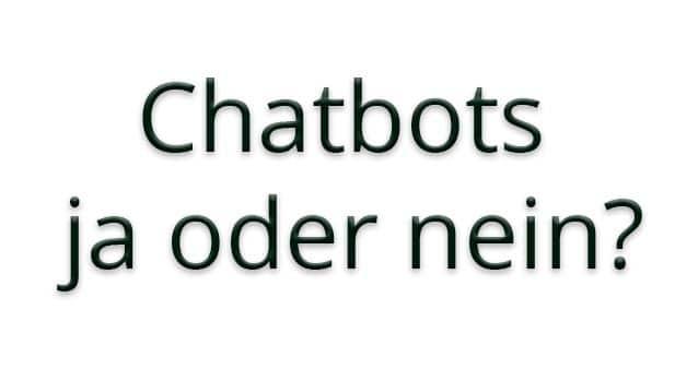 Live-Chats, Chatbots und Co.: Kundendialog ist im Onlinehandel ein wichtiges Differenzierungsmerkmal