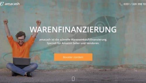 amacash: Schnelle Warenfinanzierung für Online-Händler (Anzeige)