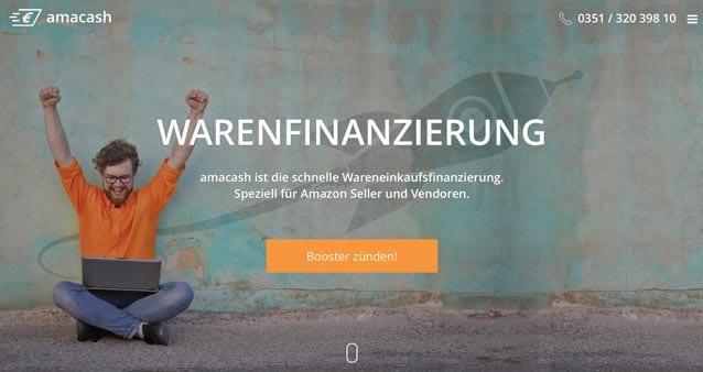 amacash: So unterstützt die neue Finanzierungslösung Amazon-Händler!