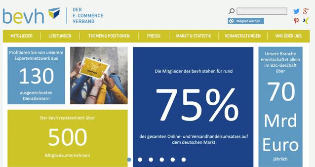 Bundesverband Ecommerce Und Versandhandel Deutschland Ev Ecommerce