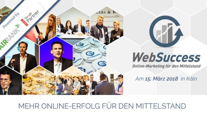 Die WebSucces geht in die zweite Runde