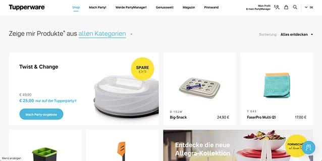 Tupperware eröffnet Online-Shop: Was wird jetzt aus den Tupperpartys?