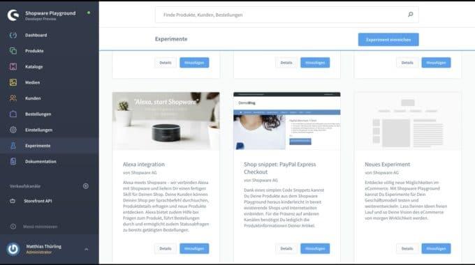 Shopware 6: exklusive Einblicke in den aktuellen Entwicklungsstand mit intoCommerce