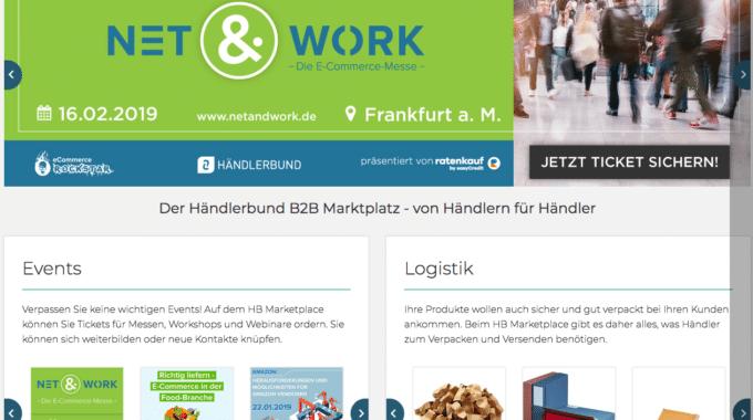 Händlerbund eröffnet B2B-Marktplatz für Mitglieds-Händler und Partner