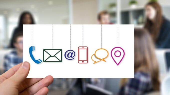 Kommunikationskanäle für Kunden